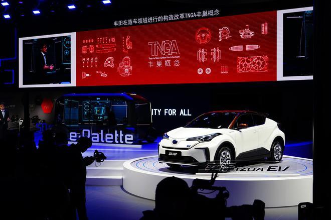 2019上海车展:丰田多款新车首发亮相
