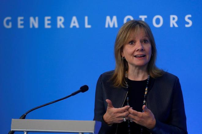 通用汽车CEO:未来五年对电动车的投资将超汽油车