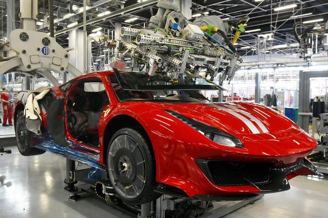 工厂位于意大利政府封锁隔离区 法拉利称不受影响正常运作