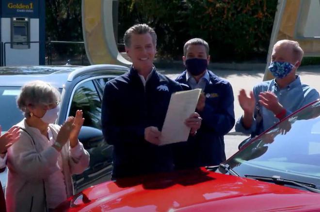 加州颁布禁令 在2035年禁止销售汽油新车