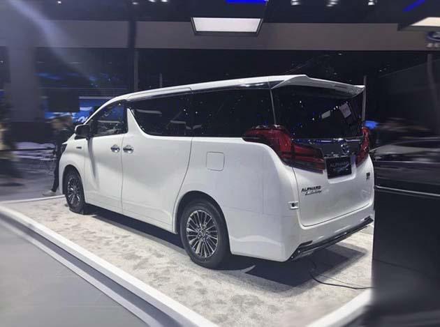 上海车展:丰田埃尔法双擎售80.50万起
