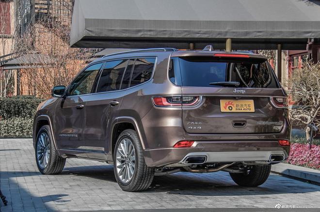 Jeep大指挥官上市 售27.98-40.98万元