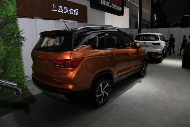 2018北京车展:北汽幻速S3X亮相