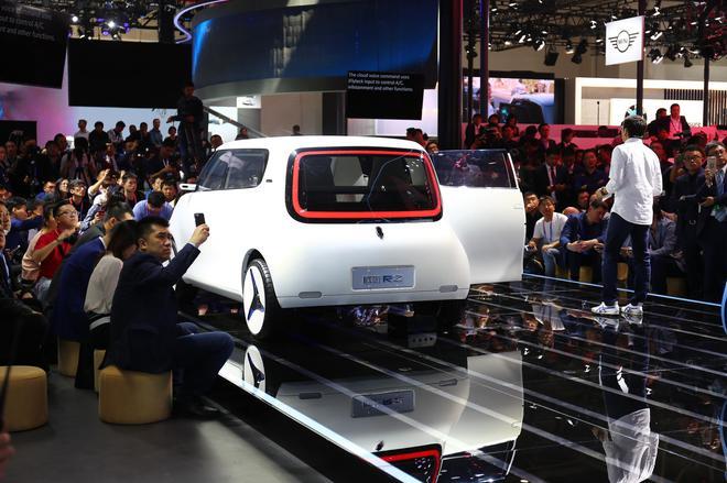 2018北京车展 欧拉R1/R2概念车发布