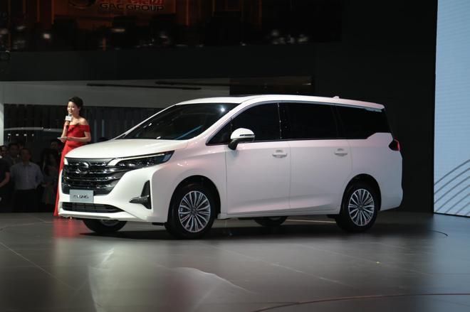 2018北京车展:广汽传祺携新款MPV亮相