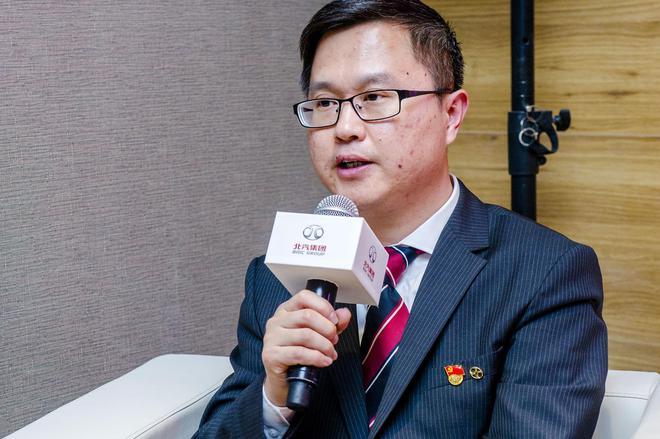 北汽新能源党委副书记、新闻发言人连庆锋