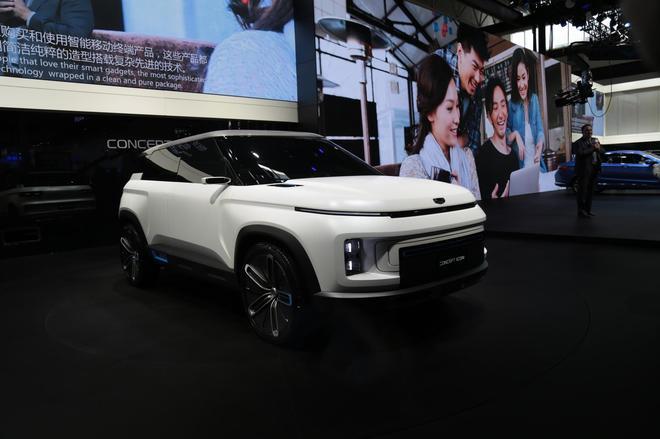 2018北京车展:吉利博瑞GE/CONCEPT ICON亮相