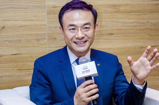 北汽集团党委常委、北汽新能源总经理郑刚