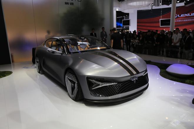 2018北京车展:前途量产版K50电动超跑亮相
