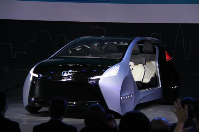 纳智捷2018北京车展发布AI智能概念座舱