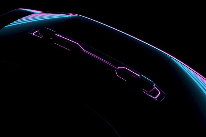 拜腾第二款概念车预告图发布 将于6月12日全球首发