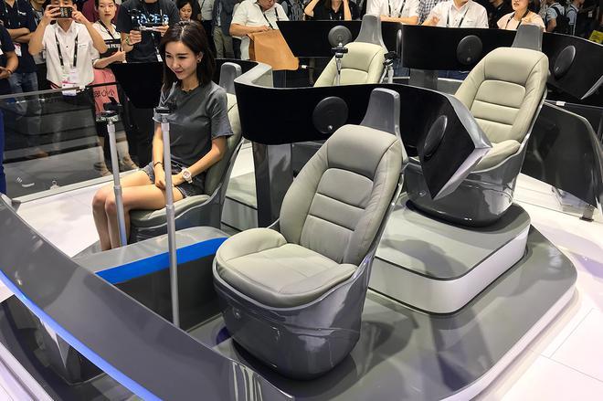 新旧势力车企扎堆CES Asia展 不秀车却秀黑科技