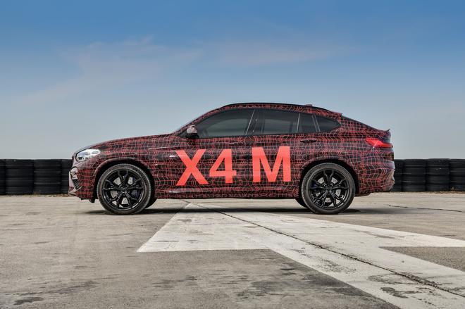 宝马全新X3M、X4M伪装车 将于DTM赛事亮相