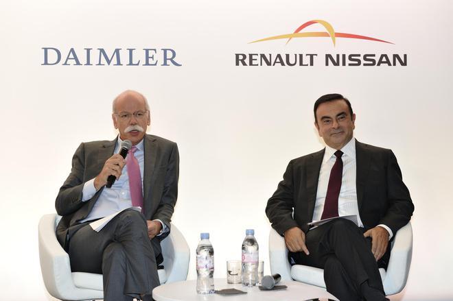 雷诺日产与戴姆勒考虑电池和自动驾驶技术合作