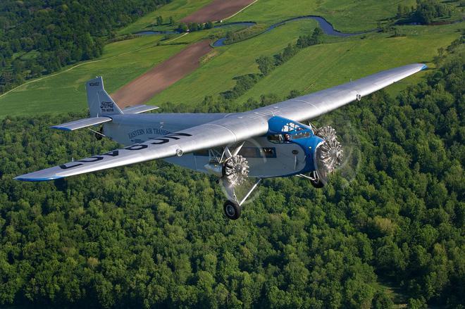 福特Trimotor运输机时至今日仍能翱翔于蓝天