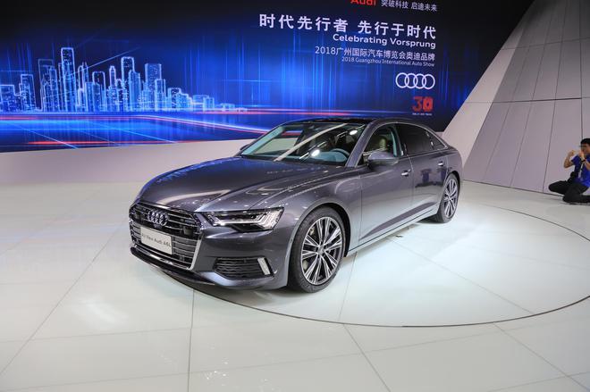 2018广州车展:奥迪新A6L/e-tron亮相