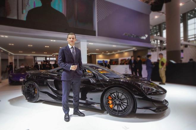 迈凯伦汽车中国及亚太区新任董事总经理George Biggs