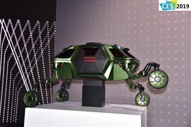 2019 CES:现代发布ELEVATE爬行概念车