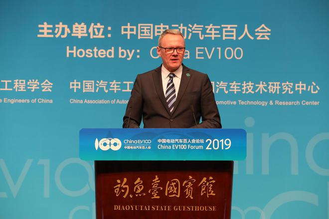 大衆汽車集團(中國)CEO 馮思翰(Stephan Wöllenstein)