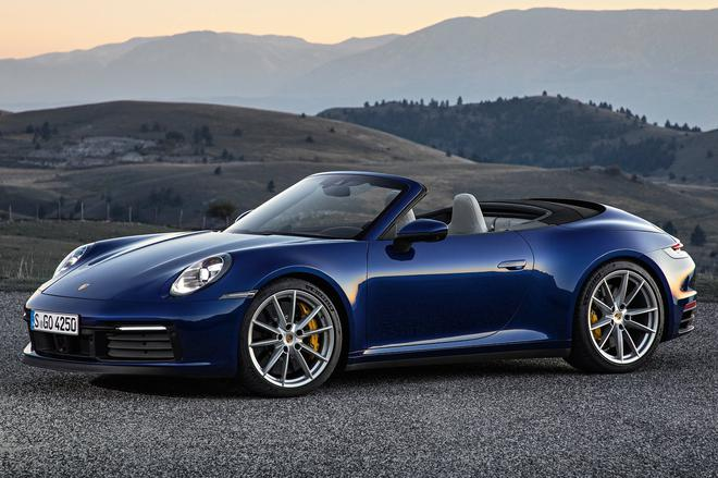 全新一代保时捷911敞篷版首发 165.8万元起