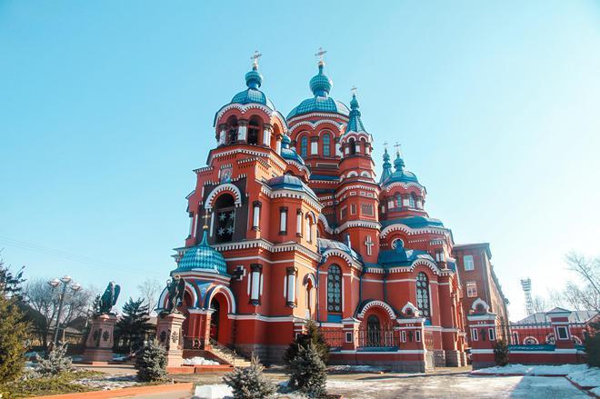伊市不能错过的景点之 童话中的城堡——喀山圣母教堂