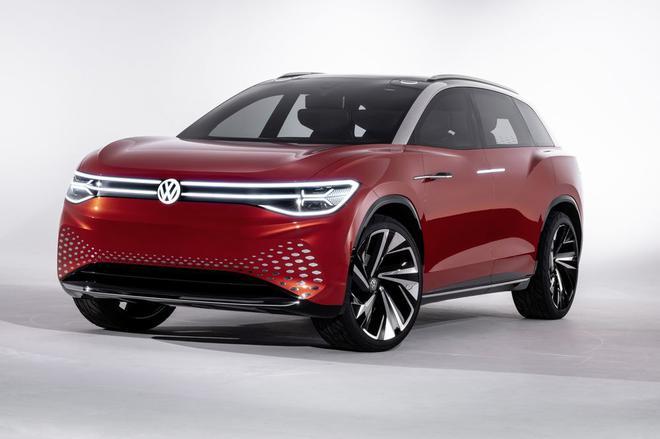 大众推出全尺寸电动SUV概念车 2021年中国首发