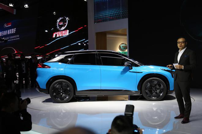 2019上海车展:广汽新能源首款纯电SUV