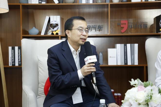 江淮乘用车营销公司副总经理 王虎