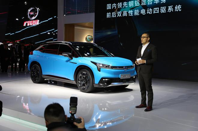 2019上海�展:�V汽新能源首款��SUV 汽�殿堂