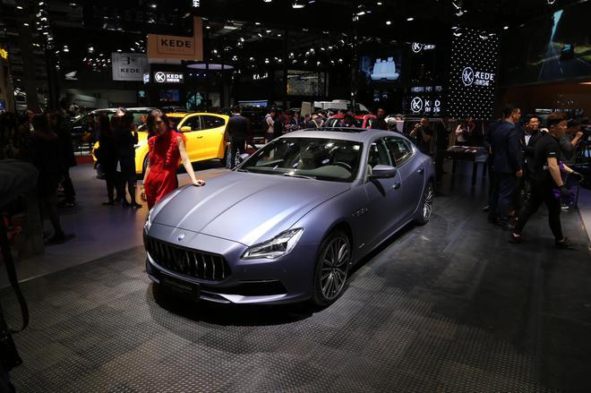 2019上海车展 玛莎拉蒂新款车型亮相