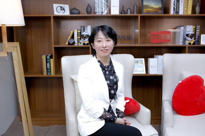 一汽红旗汽车销售有限公司副总经理 杨海岚