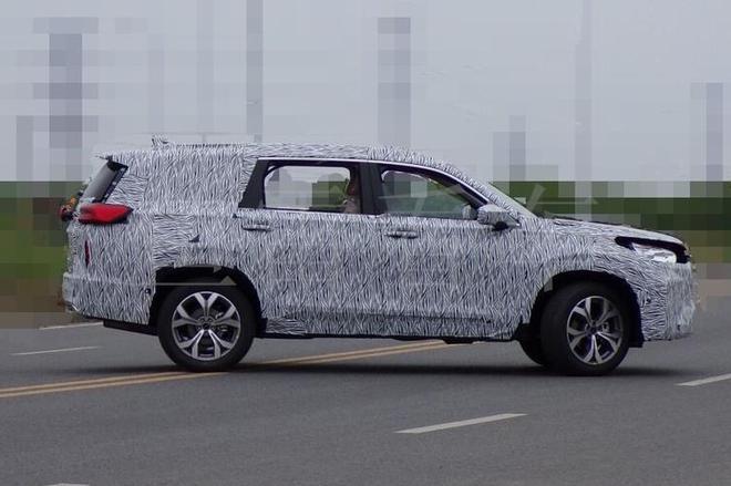 定位中型SUV/2020年推出 曝星途-VX谍照