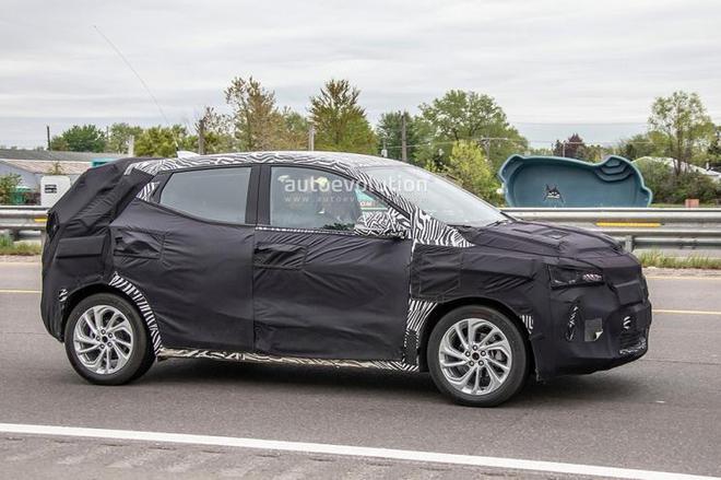 雪佛兰Bolt EUV谍照曝光 定位纯电动跨界SUV