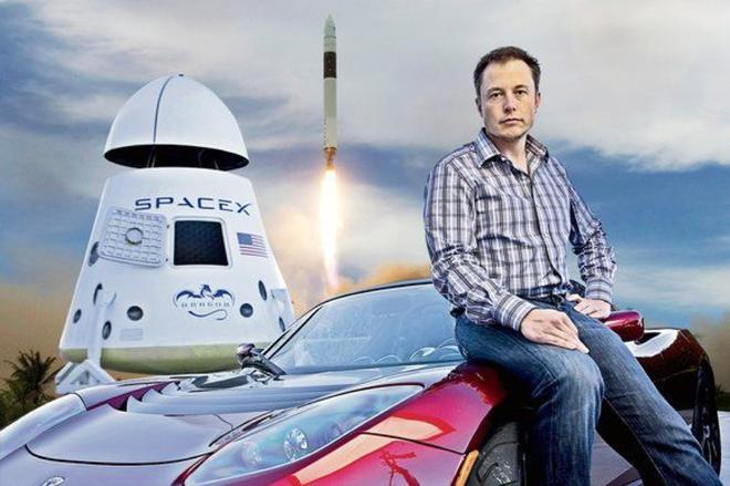 马斯克财富三分之二靠SpaceX 特斯拉贡献已不足三分之一