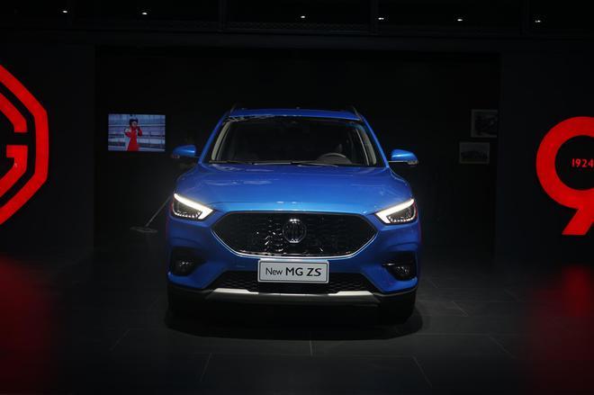 2019成都车展:名爵新款ZS首发亮相