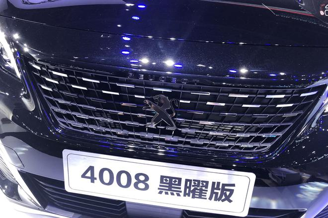 2019成都车展探馆:标致4008黑曜版