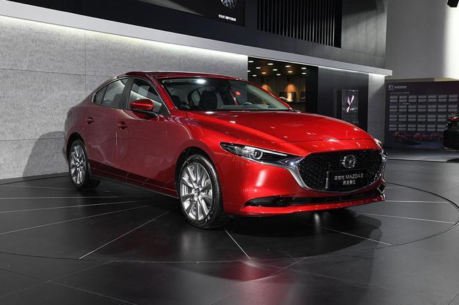 全新昂克赛拉成都车展发布预售 12.59万起售