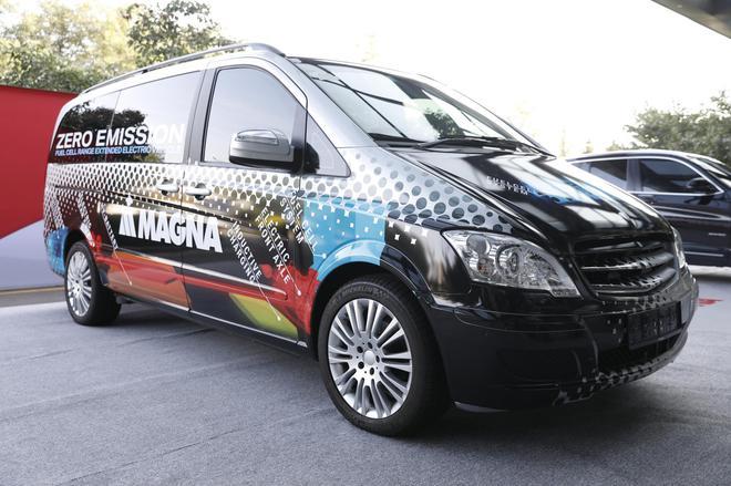 麦格纳燃料电池增程式电动概念车FCREEV