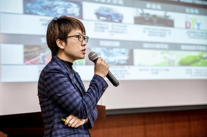 福田拓陆者事业部市场与商品规划副总裁张微微