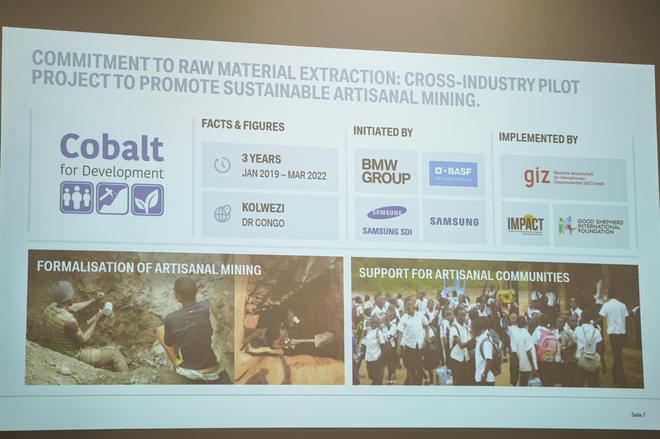 宝马集团与供应商和人权机构通力合作,确保生产过程中的可持续