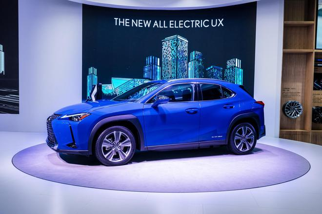 2019广州车展:雷克萨斯首款纯电动量产车亮相