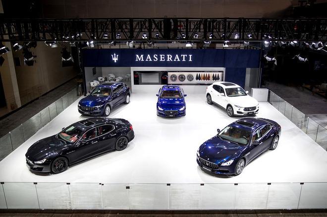 玛莎拉蒂三款全球限量版车型登陆广州车展