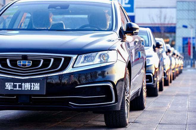 吉利博瑞千辆军车首批交车仪式在北京举行