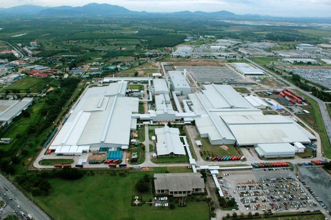 泰国罗勇府工厂俯瞰图
