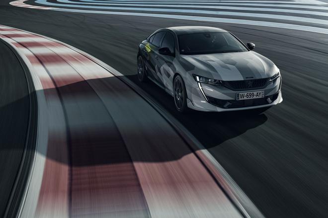 标致508 Sport Engineered量产版动态图发布 5秒内破百