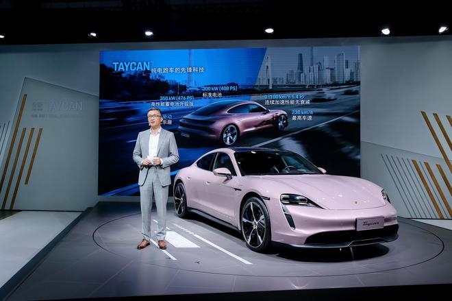 保时捷呈现全系跑车魅力保时捷携全新Taycan与结晶腐蚀版911艺术车亮相