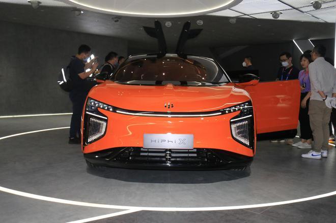 2020北京车展探馆:高合HiPhi X亮相展台