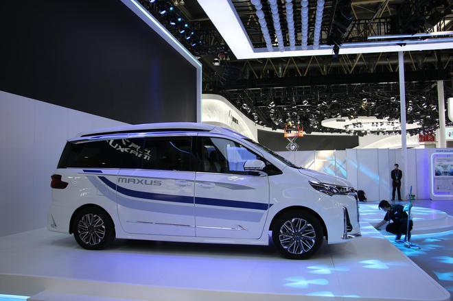 2020北京车展:上汽大通多款新车亮相 全新氢燃料MPV等