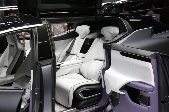 2020广州车展:卖80万的中大型SUV 高合HiPhi X华南首秀