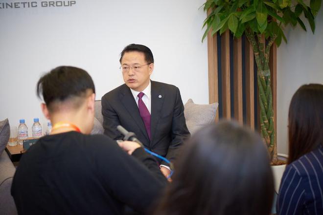 正道集团首席执行官徐建国
